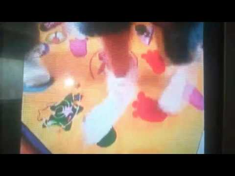 Barney's move & groove dance mat 2002 TV commercial