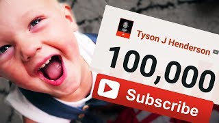 WE HIT 100,000 SUBSCRIBERS!!! 🙌🙌🎉
