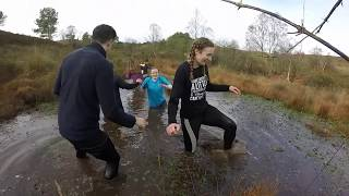 Exeter College year 2 Coaching and Fitness Mud run