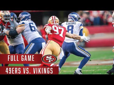 49ers vs. Vikings | NFC Divisional Round | Full Game