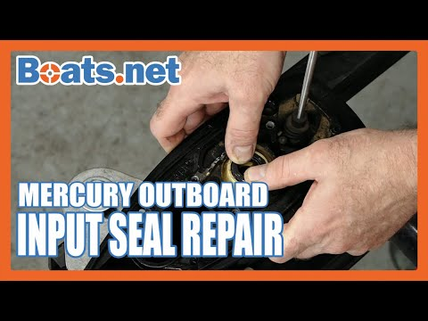 Mercury Tracker 25 Input Shaft Seal Replacement | Mercury Outboard Lower Unit Seal Replacement
