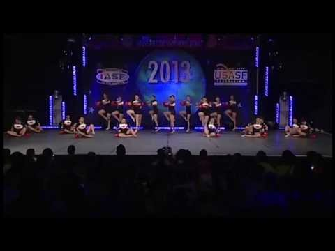 All Star MexiCOP - International Open Coed Pom - Dance Worlds 2013