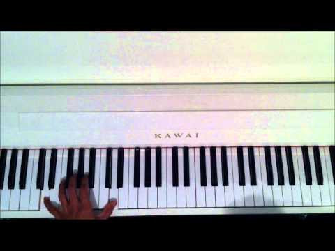 Justin Bieber Die In Your Arms Piano Lesson Youtube