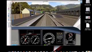 OpenBVE Conducción basica de un Acela TGV-OpenBVE para Mac