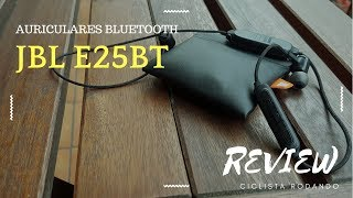 Auriculares JBL E25BT - Para el deporte - Review en español