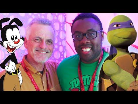 ROB PAULSEN Talks Ninja Turtles, Apritello & Animaniacs : Black Nerd