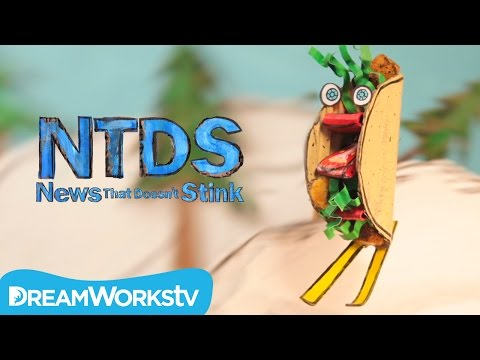 A Chicken Taco On Skis! | NEWS THAT DOESN'T STINK