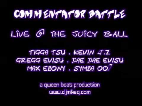 Commentator Battle Live At The Juicy Ball