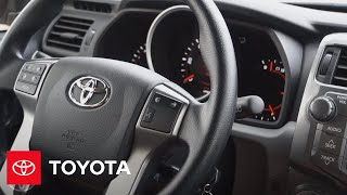 Entune® How-To: Voice recognition Dialing a Number / Dial by Name | Toyota
