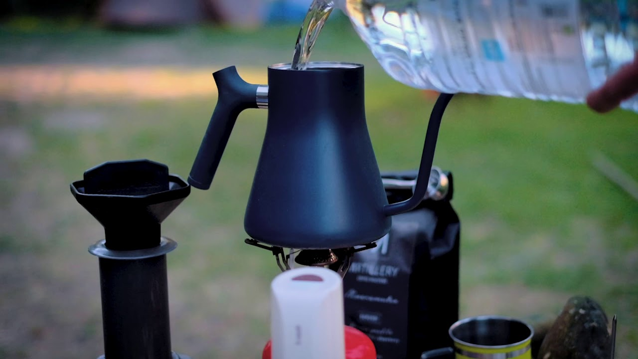 Aeropress and the great outdoors - LockDown Throwback