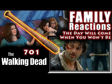 The Walking Dead | 701 | The Day Will Come When You Won't Be | FAMILY Reactions | Fair Use