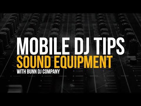 Picking The Right Sound Equipment   Mobile DJ Tips W/ Joe Bunn