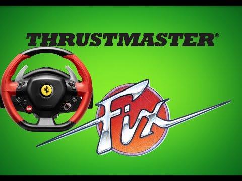 Thrustmaster Ferrari Wheel Fix
