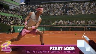 AO International Tennis | First Look