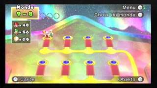 New super mario bros wii 100% partie 42 FIN