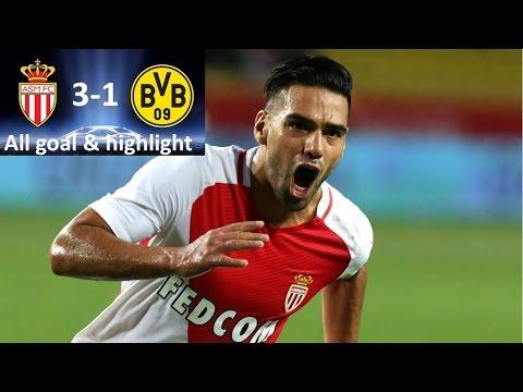 Monaco Borussia Dortmund 3-1 All goal & highlight 19 april 2017 hd qarterfinal champion league