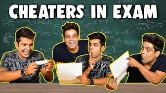 Types of CHEATERS In EXAM | The Half-Ticket Shows