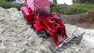 RC STEINBRUCH mit Sand verfüllen | QUARRY filling with sand