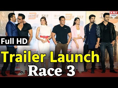 Race 3 Official Trailer Launch | Salman Khan Interview | LIVE | Full HD