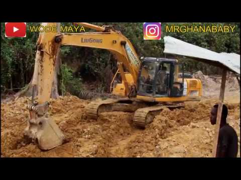 Chinese In Africa || illegal Chinese Gold Mining In Ghana