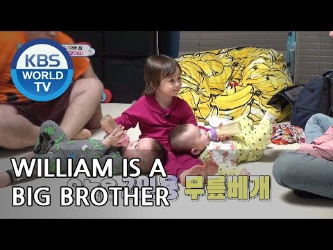 William knows how to take care of babies [The Return of Superman/2019.04.07]