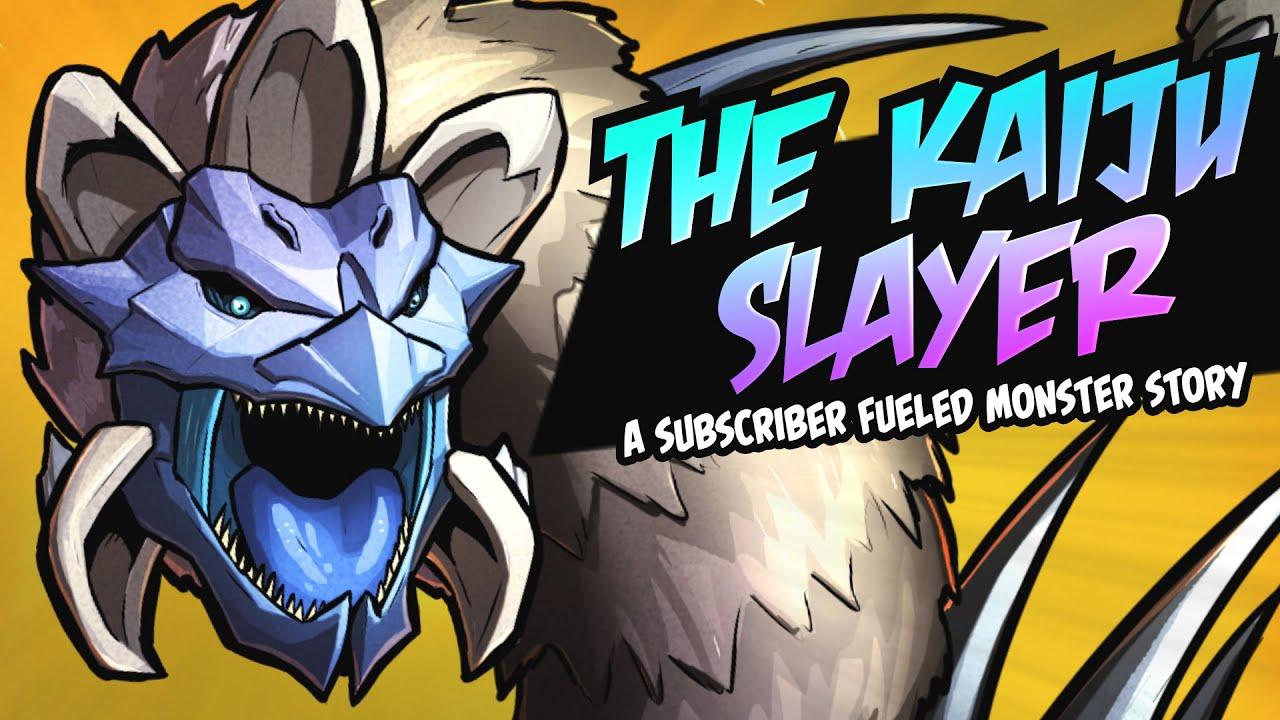 The Kaiju Slayer (A PopCross Original Story & Speedpaint)