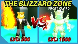 Unlocking the Blizzard Zone in Roblox Slaying Simulator