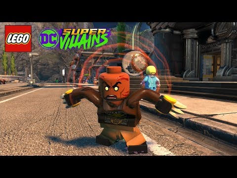 LEGO DC Super Villains Bronze Tiger Unlock + Free Roam Gameplay