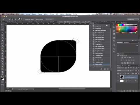 Create logo using Vector Shapes in CS6