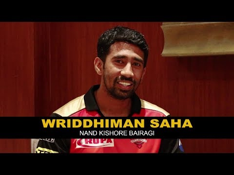 Wriddhiman Saha | Nand Kishore Bairagi नन्द किशोर बैरागी | RJ Kisna | Sunrisers Hyderabad | IPL 2018