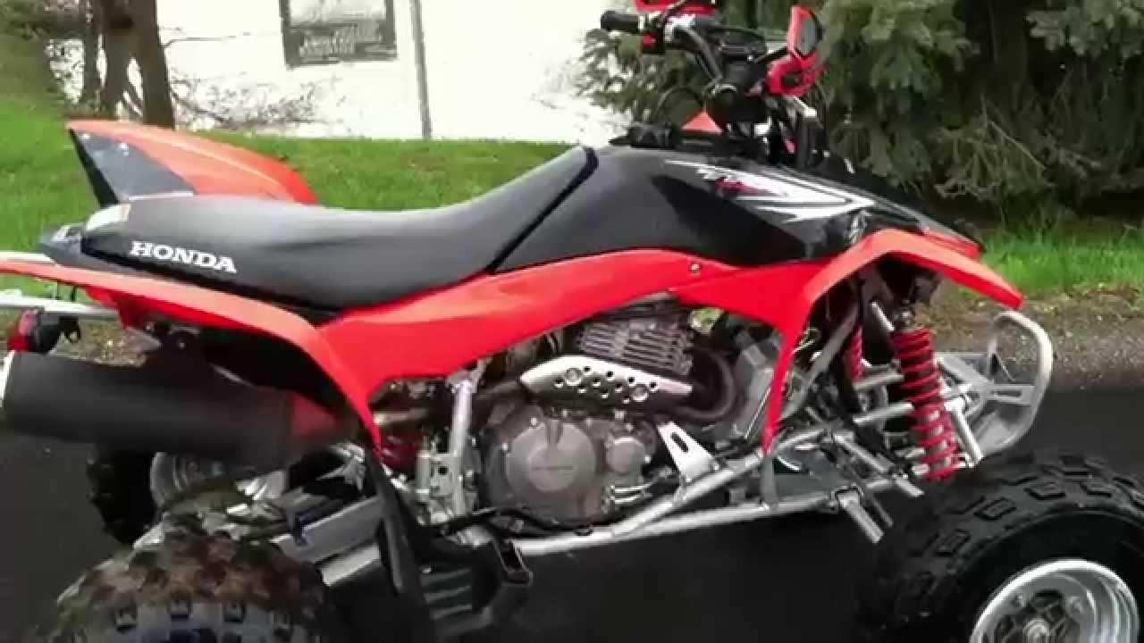 2012 Honda Trx 400 xp like new!! - YouTube