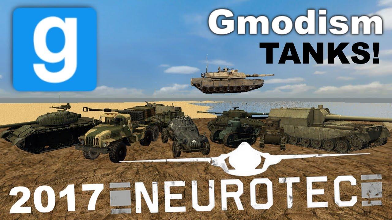 Garry's Mod Addon Showcase: NeuroTec 2017 - Tanks, APCs & Artillery