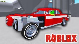 Безумный КРАШ ТЕСТ МАШИН в Роблокс! РАСПИЛИЛ Новую ТАЧКУ и Спустил с ЛЕСТНИЦЫ Car Crushers 2 Roblox