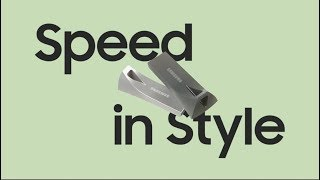 |Samsung USB Flash Drive BAR Plus| |Speed In Style| |Samsung|