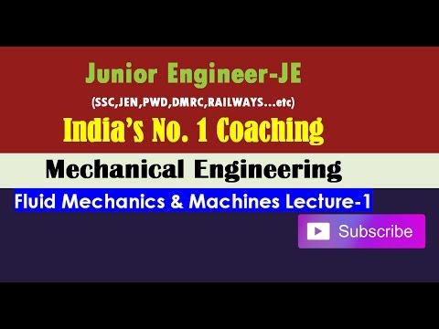 SSC-JE Paper Pattern,Subjective Analysis, How to Prepare Fluid Mechanics-Mechanical