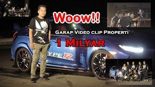 Property Shooting 1 Milyar lebih, Project Video Klip | BTS Lagu Rindu Terakhir