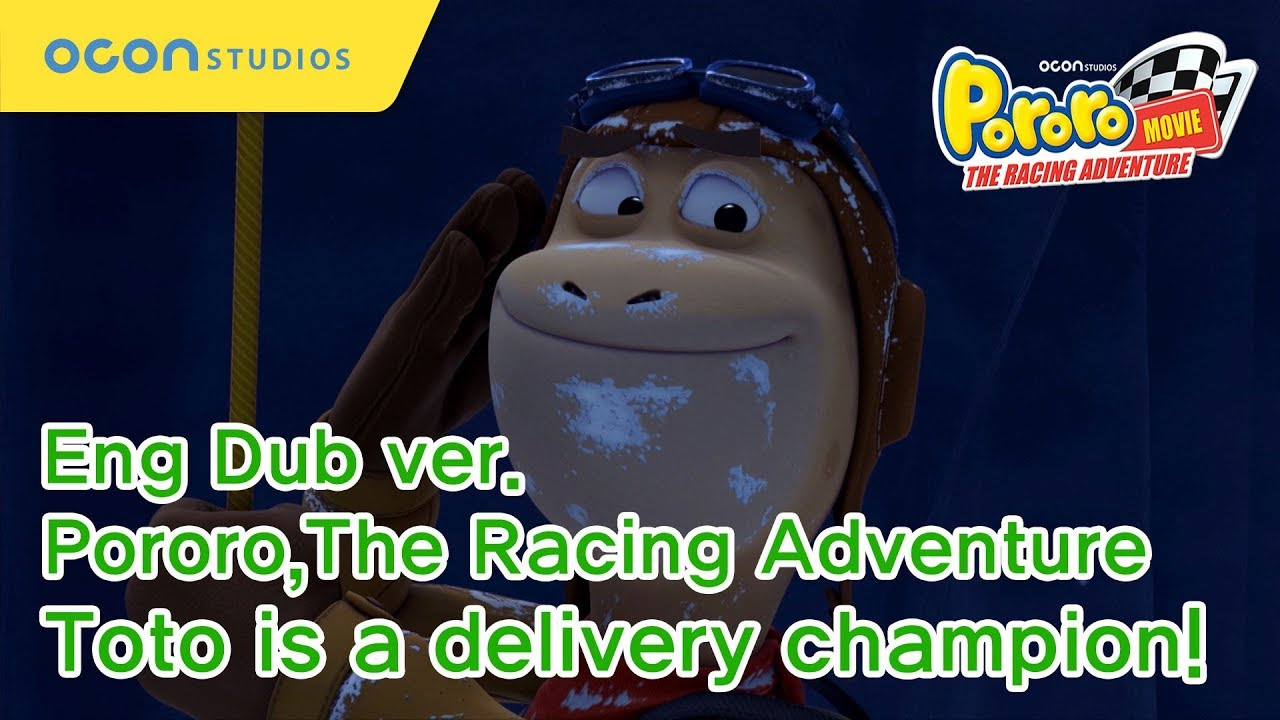 Download [Pororo The Racing Adventure] Toto is a delivery champion! (Eng Dub)