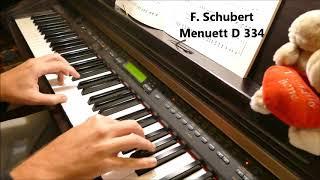 F. Schubert: Menuett D.334