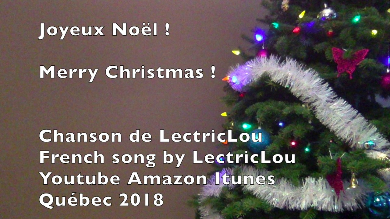 Merry Christmas french Love song