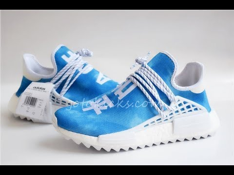 1b732413d0117 Pharrell X Adidas NMD HU China Exclusive Pack Blue Peace F99763 from  gotokicks com