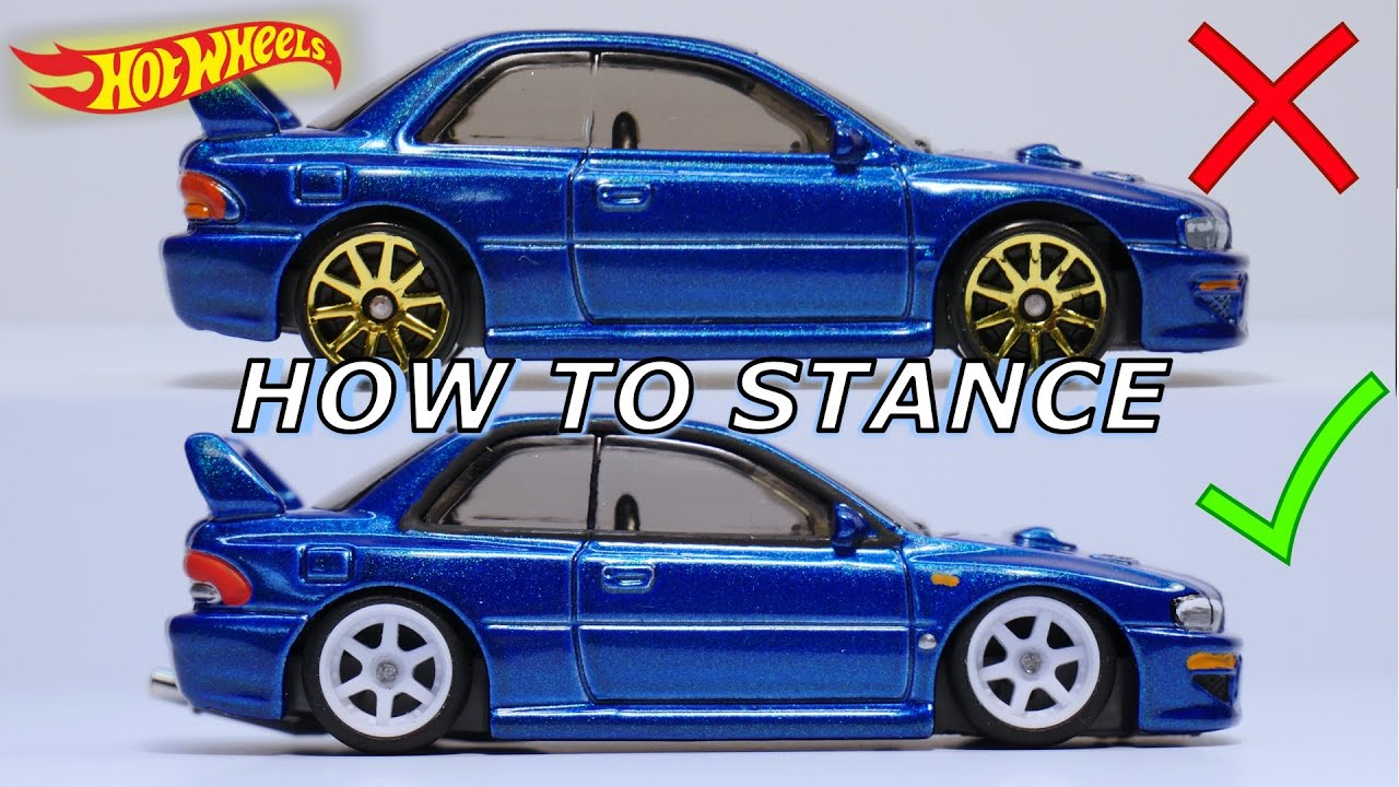 The Secret of STANCING your Hot Wheels Car