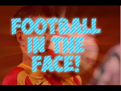 Football in the face