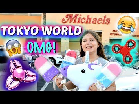 SQUISHIES, BTS, FIDGET SPINNERS, SLIME, DRAGON FRAPPUCCINO!!! MICHAELS & TOKYO WORLD! ~Vlog | Sedona