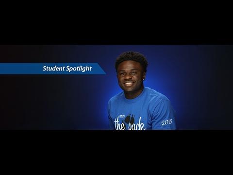 CSUSB Student Spotlight: Prince Ogidikpe