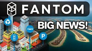 Fantom Has BIG NEWS💥🚀 Dubai Smart City Partnership!
