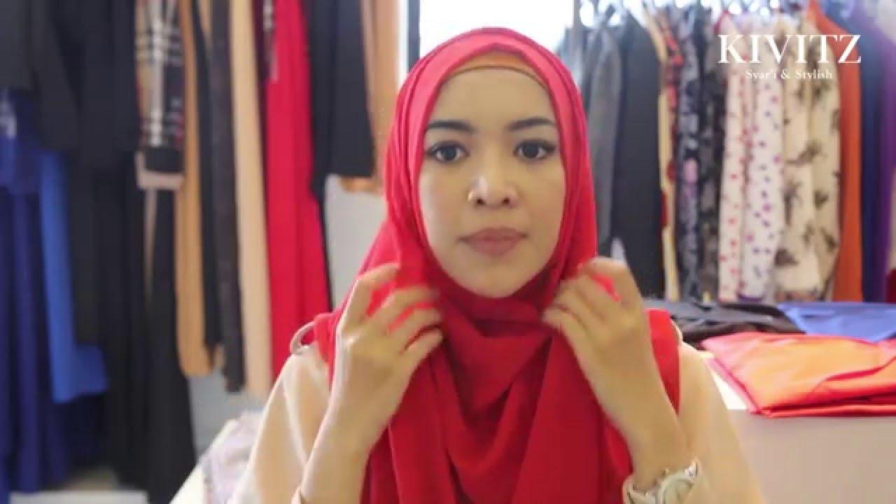 KIVITZ Hijab Tutorial By Fitri Aulia Vol 6 YouTube