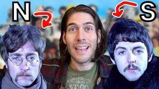 INTUITION vs SENSING, Explained with BEATLES