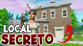 SECRET PLACE IN PARQUE AGRADAVEL-FORTNITE