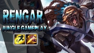 QUER SUBIR DE ELO - RENGAR JUNGLE GAMEPLAY - BUILD, RUNAS e TALENTOS