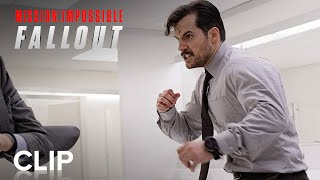 MISSION: IMPOSSIBLE - FALLOUT | Bathroom Fight | Official Film Clip